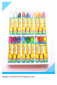 24PCS Hexangular Jumbo Oil Pastel for Kids and Students pictures & photos