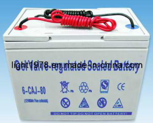 80ah Gelled Battery for Solar System pictures & photos