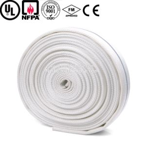 1 Inch PU Double Jacket Fire Canvas Hose, Flexible Fire Fighting Hose pictures & photos