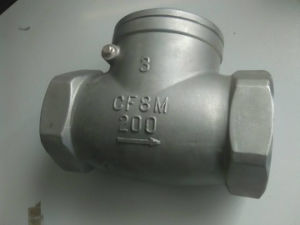 Thread Swing Check Valve pictures & photos