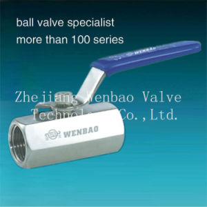 Forged 1PC Hexagonal Stainless Steel 316 Ball Valve pictures & photos