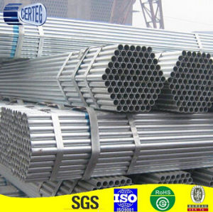 Standard Welded Carbon Construction Galvanized Steel Pipes Tube pictures & photos