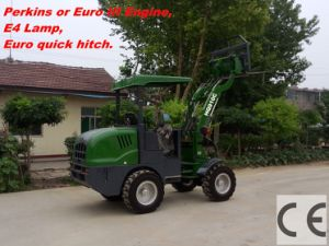 CE Mini Front Loader (HQ910C) with Euro III Engine pictures & photos