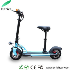 DC36V Mini Electric Scooter with Bluetooth Speaker pictures & photos