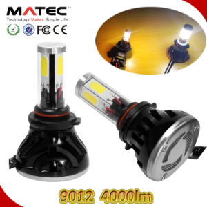 40W 4000lm Hi/Low Beam 9012 LED Scooter Headlight pictures & photos