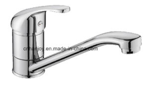 Hot Sale Deck Mounted Single Handle Sink Kitchen Faucet (H11-103) pictures & photos