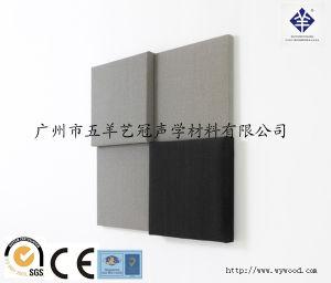 Fabric Square Edge Fibergrass Acoustic Panel pictures & photos