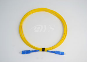 Sc-Sc Simplex Singlemode Optical Patch Cord pictures & photos