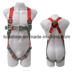 Industrial Full-Body Polyester Adjustable Professional Protective Security Harness Safety Belt pictures & photos