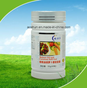 OEM Approved Walnut Oil & Carotene Soft Gel pictures & photos
