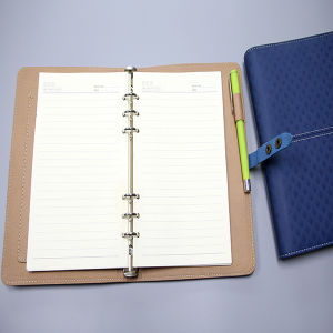 Hidden Wire-O Binding Notebook with PU Cover pictures & photos