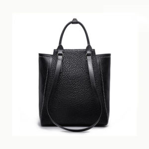 Zexin Elegant PU Shining Hand Bags OEM/ODM Fashion Lady for Womens Lady Handbag pictures & photos