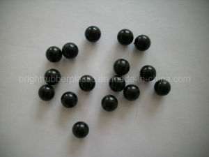 Polished Small Solid Rubber Ball pictures & photos