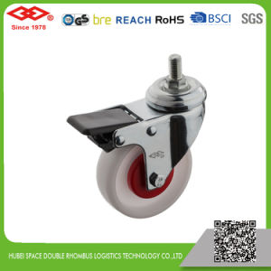 Swivel Screw with Brake Caster (L110-30B050X20IS) pictures & photos