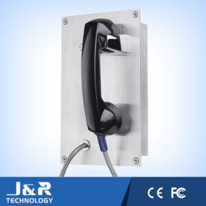 VoIP Emergency Telephone Stainless Steel Industrial Intercom Phone Jr208-CB pictures & photos