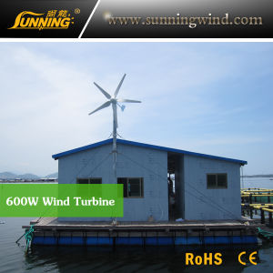 Low Rpm Speed Wind Turbine Generator 600W (MAX 600W) pictures & photos