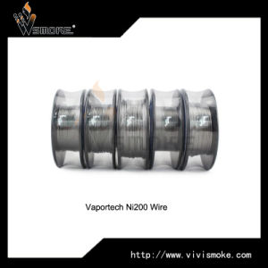 Nickel 200 Wire Use for Vape E-Cig Nickel Wire 0.25mm Made in China 99.6 %Nickel Ni200 pictures & photos