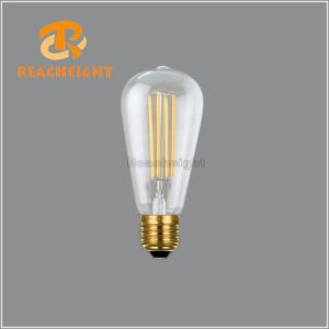 LED St64X4tl Dimmable LED Filament Bulb pictures & photos