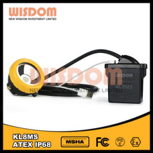 Wisdom High Power LED Mining Cap Lamp, Miner′s Headlamp pictures & photos
