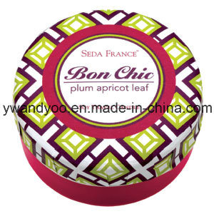 Colorful Decortive Romantic Tin Wedding Candles with Metal Lid pictures & photos
