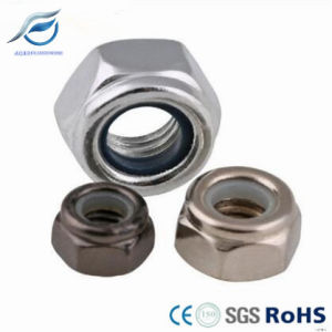 DIN985 DIN982 Nylon Insert Lock Nuts pictures & photos