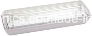 Waterproof IP65 Maintained Battery Operated Fluorescent Emergency Light pictures & photos
