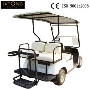 Hot Sale Four People Electric Golf Car Hotel Cart pictures & photos