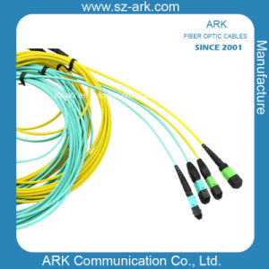 MPO Mini Cable Fiber Optic Patchcord pictures & photos
