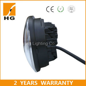 Wholesale E-MARK 5.75inch LED Headlight Round for Motorcycle Harley Daymaker pictures & photos