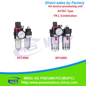 Air Filter, Regulator and Lubricator Combination of Air Source Treatment Unit (FR. L AFC, BFC Airtac Type)