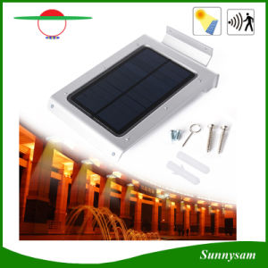 46 LEDs Waterproof Human Body Sensor Solar Light for Garden pictures & photos