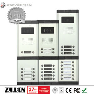 Screen Video Villa Intercom System for Building Access Control pictures & photos