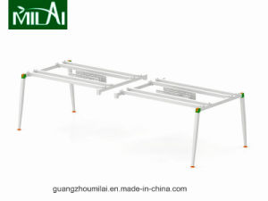 Traditional Modular Office Workstation with Stainless Steel Leg pictures & photos