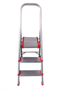 0.6m Aluminum Alloy 3-Step Household Ladder pictures & photos