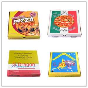 Locking Corners Pizza Box for Stability and Durability (PIZZ-0081) pictures & photos