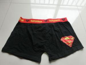 Men′s Supermen Printed Boxer Underwear