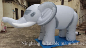Hot Sell Advertising Animal Inflatable Elephant for Promotion