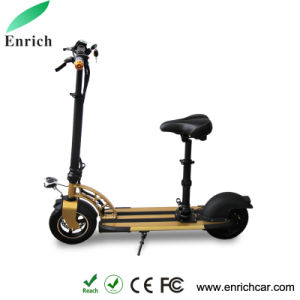 DC36V Mini Electric Scooter with Bluetooth Speaker