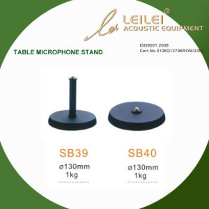 Ajustable Table Microphone Stand Base (SB39 SB40) pictures & photos