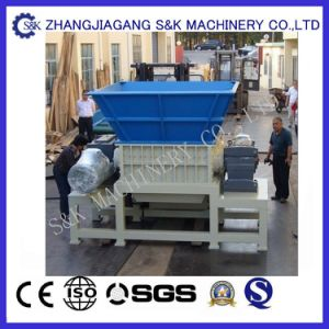 High Efficiency Double Shaft Shredding Machine pictures & photos