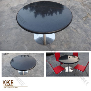 Acrylic Solid Surface Dining Black Table Top Price