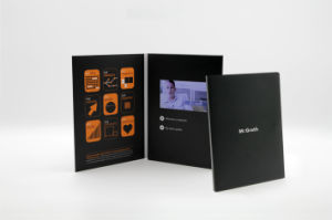 4.3 Inch, 7 Inch Video Brochure, Video Card and Video Booklet pictures & photos
