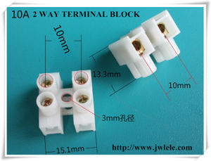 Feed Through PA 12 Way Terminal Block Strip Connector pictures & photos