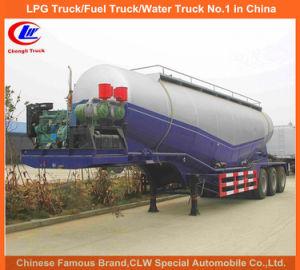 50m3 Bulk Cement Trailer for 60t Cement transportation Truck pictures & photos