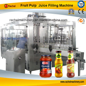 Automatic Fruit Paste Filling Capping Machine pictures & photos