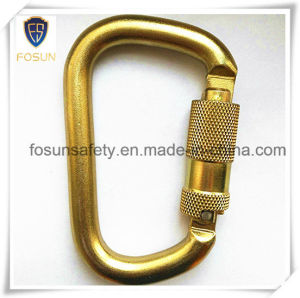 Forged Alloy Steel Zinc Carabiner (DS21-2) pictures & photos