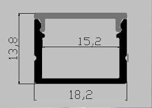 2016 LED Strip Light Aluminum Profile (MC-1914-B) pictures & photos