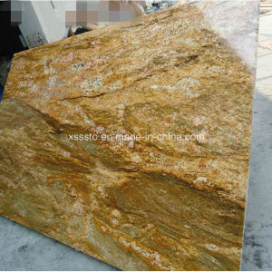 Imperial Gold Natural Stone Granite for Flooring Walling pictures & photos