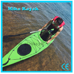 One Person Plastic Boat Sea Ocean Kayak with Pedals and Rudder pictures & photos