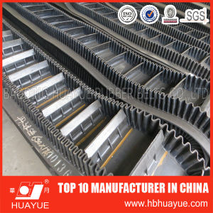 Sidewall Cleated Rubber Conveyor Belt pictures & photos
